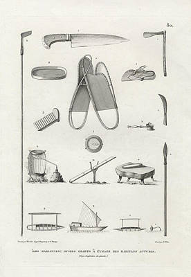 Everyday Items On Guam And Mariannas Print by dApres Duperrey