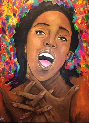 Soul Singer Drawing - Everything Is Everything by Chloe Gertz