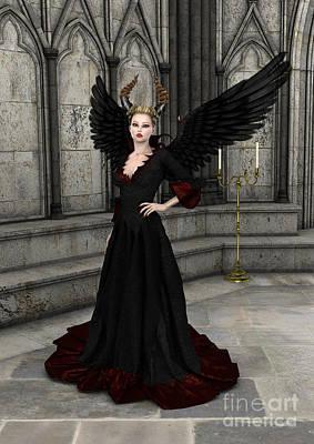 Digital Art - Evil Queen by Design Windmill