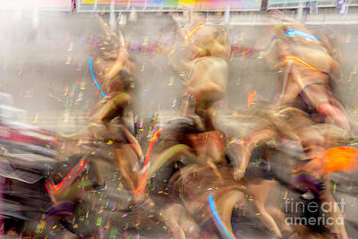 Mardi Gras Photograph - Evolutionary by Az Jackson