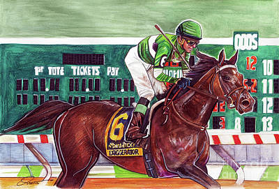 Exaggerator Print by Dave Olsen
