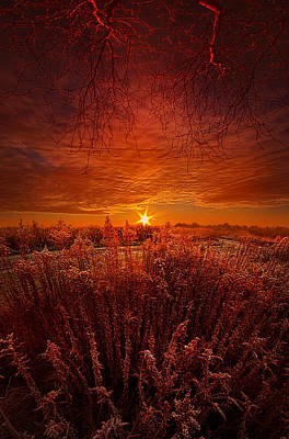 Unity Photograph - Exhale by Phil Koch
