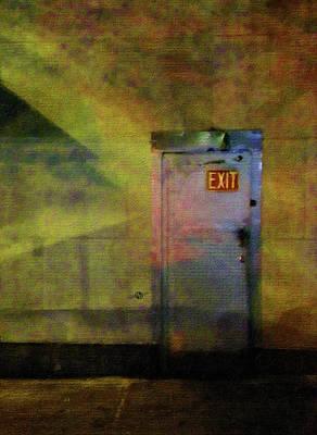 Digital Pastel Painting - Exit 1 by Tony Rubino