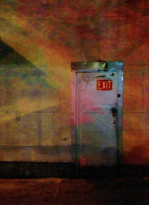 Digital Pastel Painting - Exit 2 by Tony Rubino