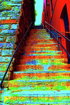 Exorcist Steps Print by Jost Houk