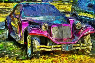 Exotic Car Print by Thom Zehrfeld