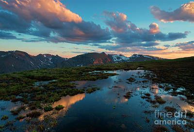Colorado Sunset Photograph - Expansive by Mike Dawson