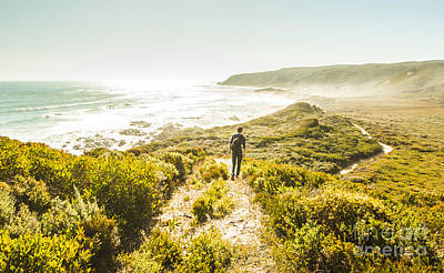 Trial Photograph - Exploring The West Coast Of Tasmania by Jorgo Photography - Wall Art Gallery