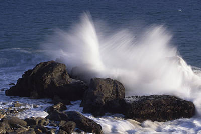 Sycamore Canyon Photograph - Explosive Surf by Soli Deo Gloria Wilderness And Wildlife Photography