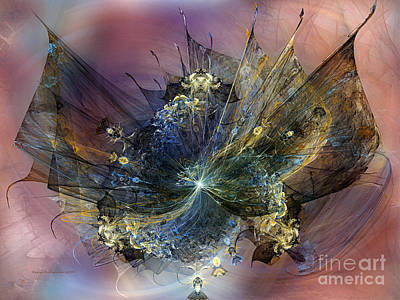 Poetical Digital Art - Expression Of Joy by Karin Kuhlmann