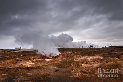 Extreme Geothermal Area Print by Svetlana Sewell