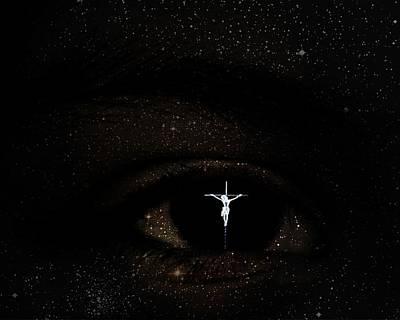 Eye Of God Print by John Feiser