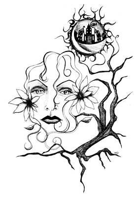 Eye Of The Beholder Print by Shawna Rowe