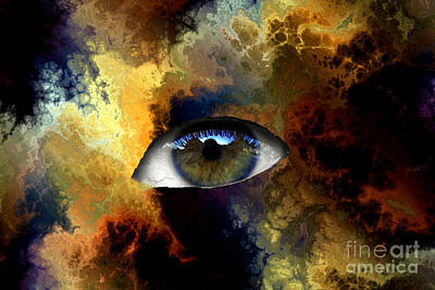 Eye Of The Storm Print by John Rizzuto