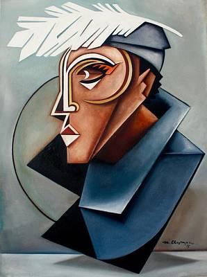 Eye Of The Watched Divine / Zora Neale Hurston Original by Martel Chapman