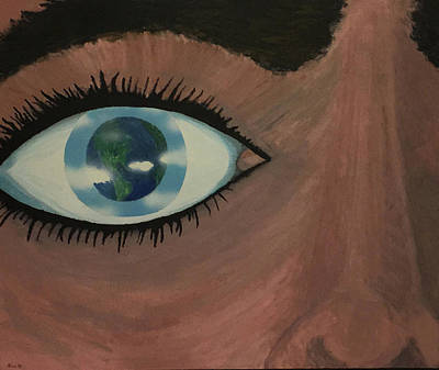 Surrealism Painting - Eye Of The World by Thomas Blood