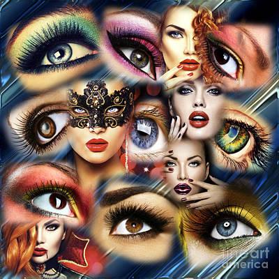 Eye See You Print by John Rizzuto