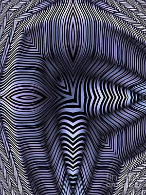 Artistic Digital Art - Eyeline by John Edwards
