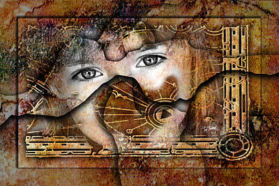 Eyes Of Divination Print by Tim Thomas