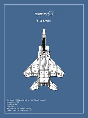 F-15 Photograph - F-15 Eagle by Mark Rogan