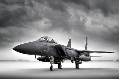 Digital Art - F-15 Strike Eagle by Douglas Pittman