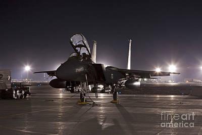 Nato Photograph - F-15e As A Rock Star by Tim Grams
