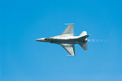 F-16 Full Speed Print by Sebastian Musial
