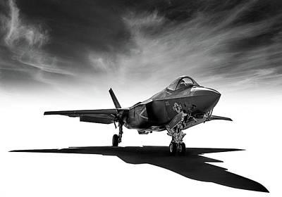 Digital Art - F-35 Lightning by Douglas Pittman