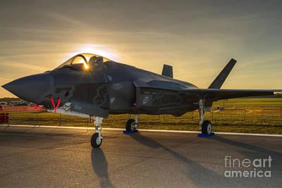 Photograph - F 35 Lightning  by Rick Mann