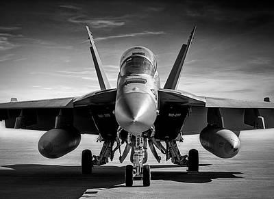 Digital Art - F/a 18 Hornet by Douglas Pittman