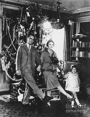 Scottie Photograph - F. Scott Fitzgerald Family by Granger