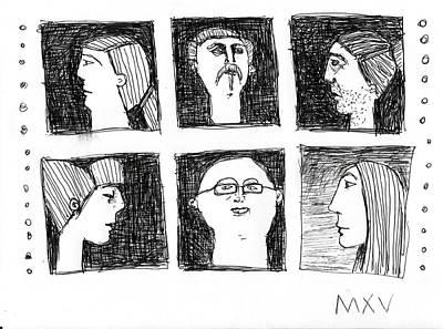 Fabulas No. 5 Original by Mark M  Mellon