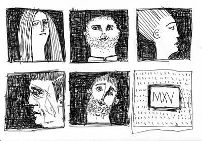 Fabulas No. 6  Original by Mark M  Mellon