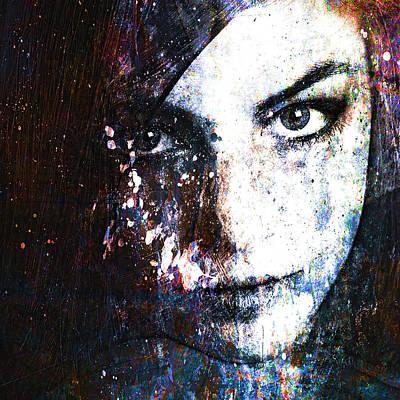 Face In A Dream Print by Marian Voicu
