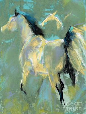 Painting - Fading Out To Three by Frances Marino
