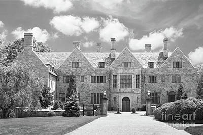 Fairfield University Bellarmine Hall Print by University Icons