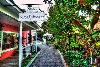 Fairhope French Quarters Serendipity Original by Michael Thomas