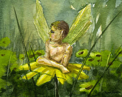 Fairy Boy Original by Sean Seal