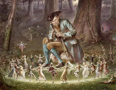 Williams Photograph - Fairy Dance by William Holmes Sullivan
