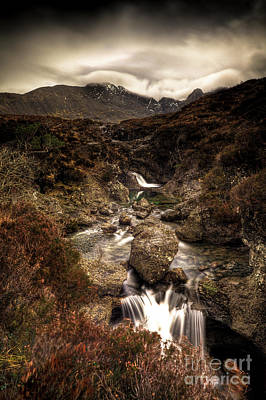 Glen Brittle Photograph - Fairy Pools by Roddy Atkinson