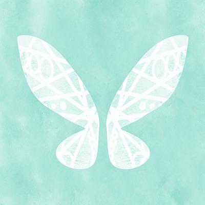 Fairy Mixed Media - Fairy Wings- Art By Linda Woods by Linda Woods