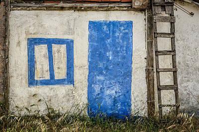 Fake Blue Door Original by Marco Oliveira