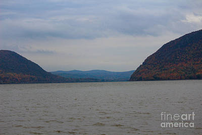 Fall And The Hudson Print by Victory  Designs