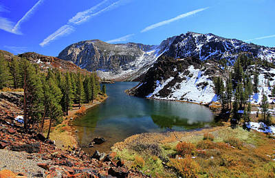 Fall At Ellery Lake Print by David Toussaint - Photographersnature.com