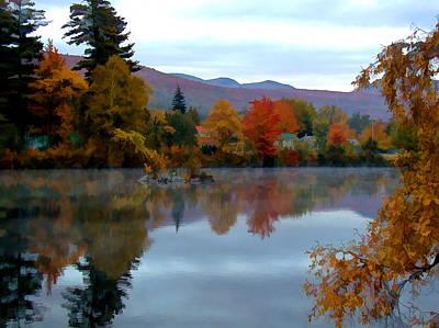 Androscoggin Photograph - Fall Colors by Dan McManus