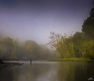 Photograph - Fall Fly Fishing by Phil Rispin
