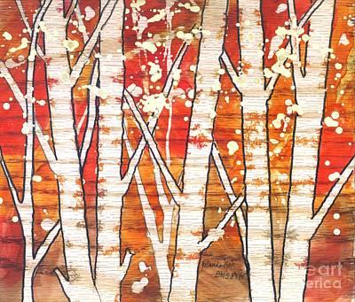 Fall Foliage Original by Yolanda Koh