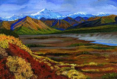 Fall In Alaska Print by Vidyut Singhal