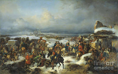 Fall Painting - Fall Of Kolberg by Celestial Images