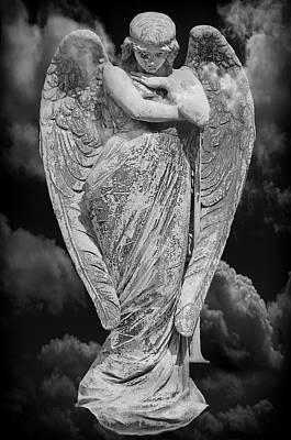 Fallen Angel Print by Steven  Michael